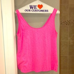 Lilly Pulitzer Kinsley Pink Tank Top Size Medium